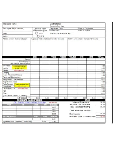 Use this basic travel expense reporting template to keep track of all your travel expenses. 10 Travel Expense Log Templates Google Docs Google Sheets Excel Word Numbers Pages Pdf Free Premium Templates