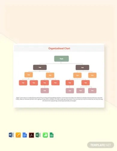Use this template to identify areas for improvement by following your company's linear process. Organizational Chart Template 19 Free Word Excel Pdf Format Download Free Premium Templates