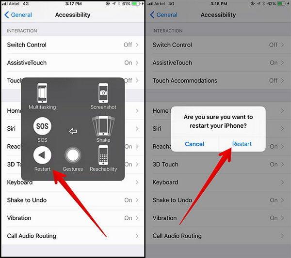 如何強制重啟或硬重置iPhone X / XS / XR