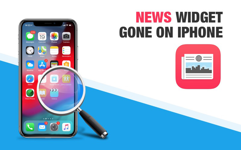 iPhone News Widget Disappeared Heres the Real Fix