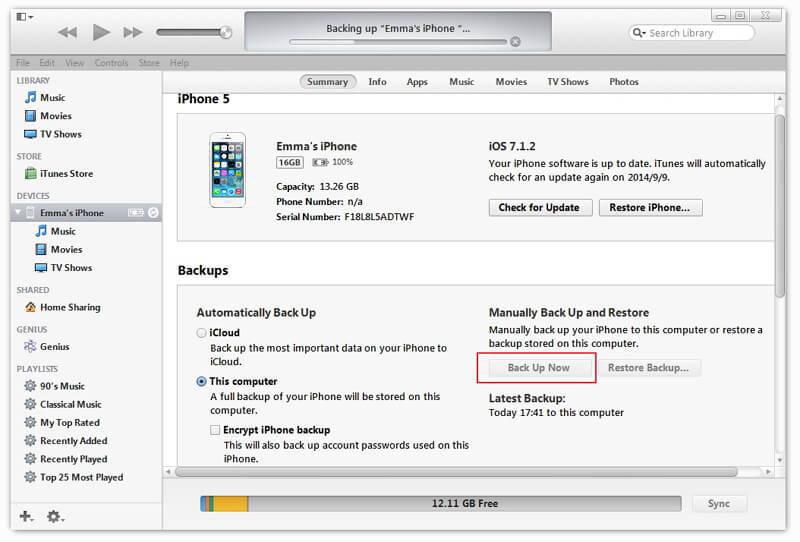 Top 5 Free Ways to Backup iPhone/iPad/iPod to Windows and Mac