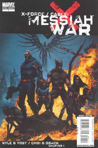 JAN092540D X-Force/Cable: Messiah War Prologue In Stores Today