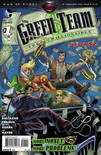 Green Team Teen Trillionaires #1