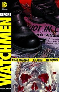 Before Watchmen Comedian Rorschach Deluxe HC