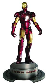 may084835u Iron Man Movie ArtFx Statue REVIEW