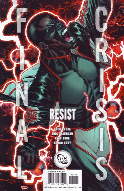 Final Crisis Resist #1 (Cover B)