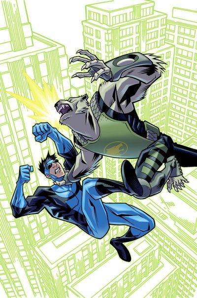 Astounding Wolf-man #11