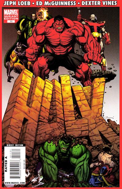 Hulk #11 (Variant Cover Edition - Art Adams)