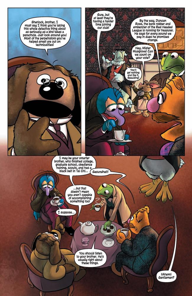 MuppetSherlock4p3 TFAW Interviews: The Muppets' Amy Mebberson