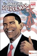 ObamaSpiderMan583 Fourth Printing for Amazing Spider-Man #583 With Obama