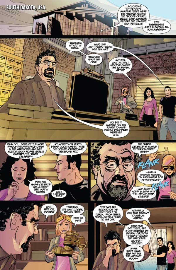 TFAW Interviews Warehouse 13 Comics Ben Morse