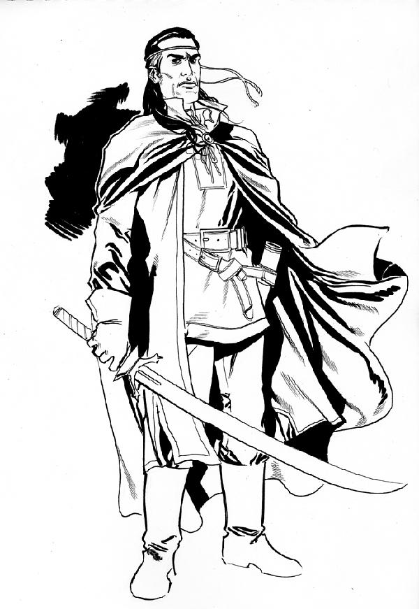 Concept Art for Robert Jordan's The Wheel of Time Comics