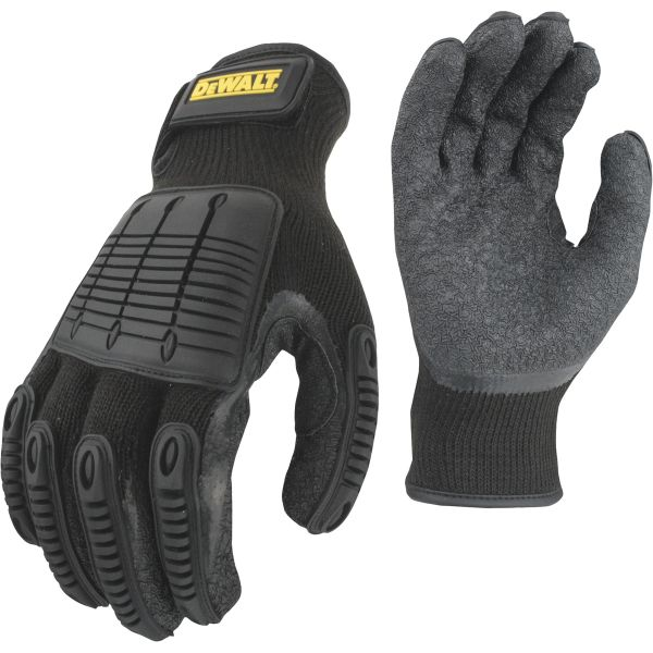 ThatDailyDeal: DEWALT Men's Impact Guard Hybrid Work Gloves - Protects from impacts on knuckles and back of hands, provides SUPER grip - $7.49
