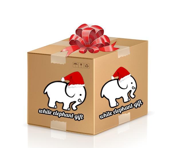mystery box white elephant