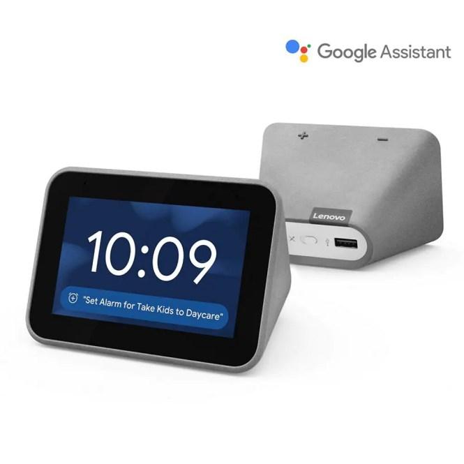 Lenovo Smart Clock With The Google