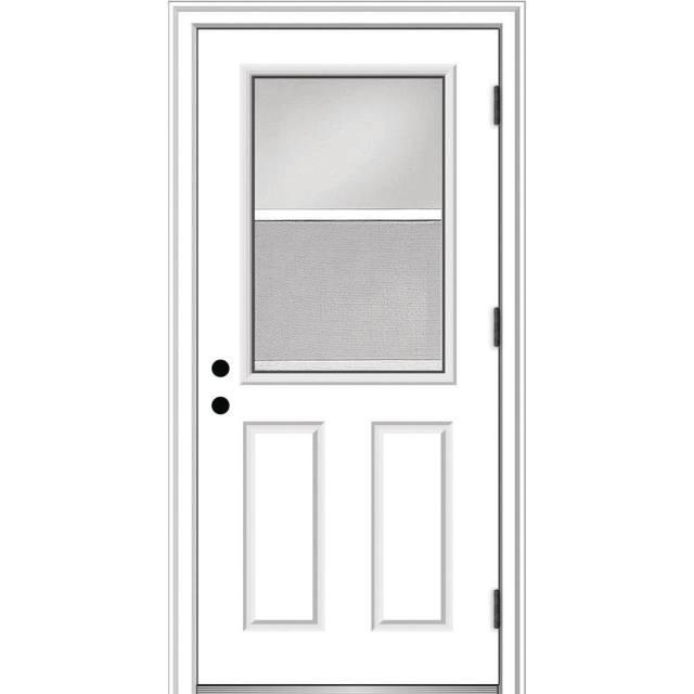 primed mmi door steel doors with glass z0364696l 64 1000