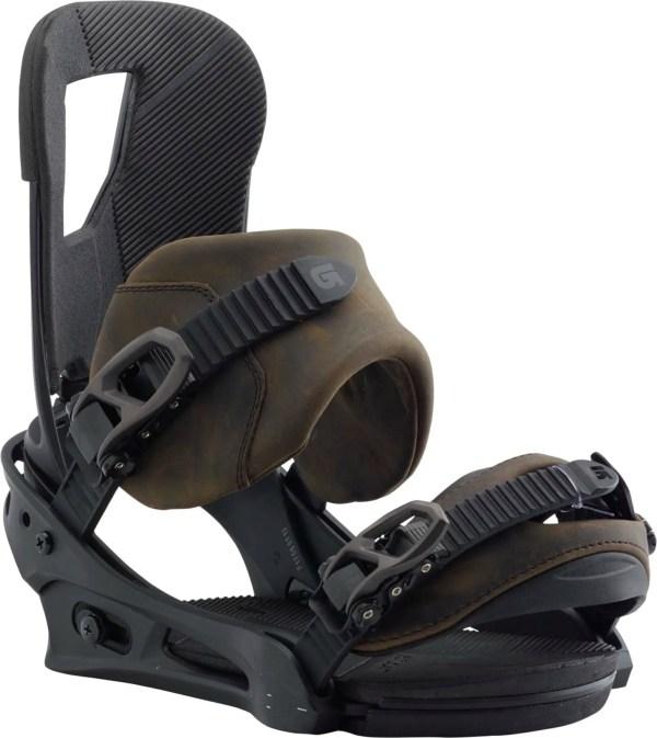 Burton Cartel Leather Snowboard Bindings