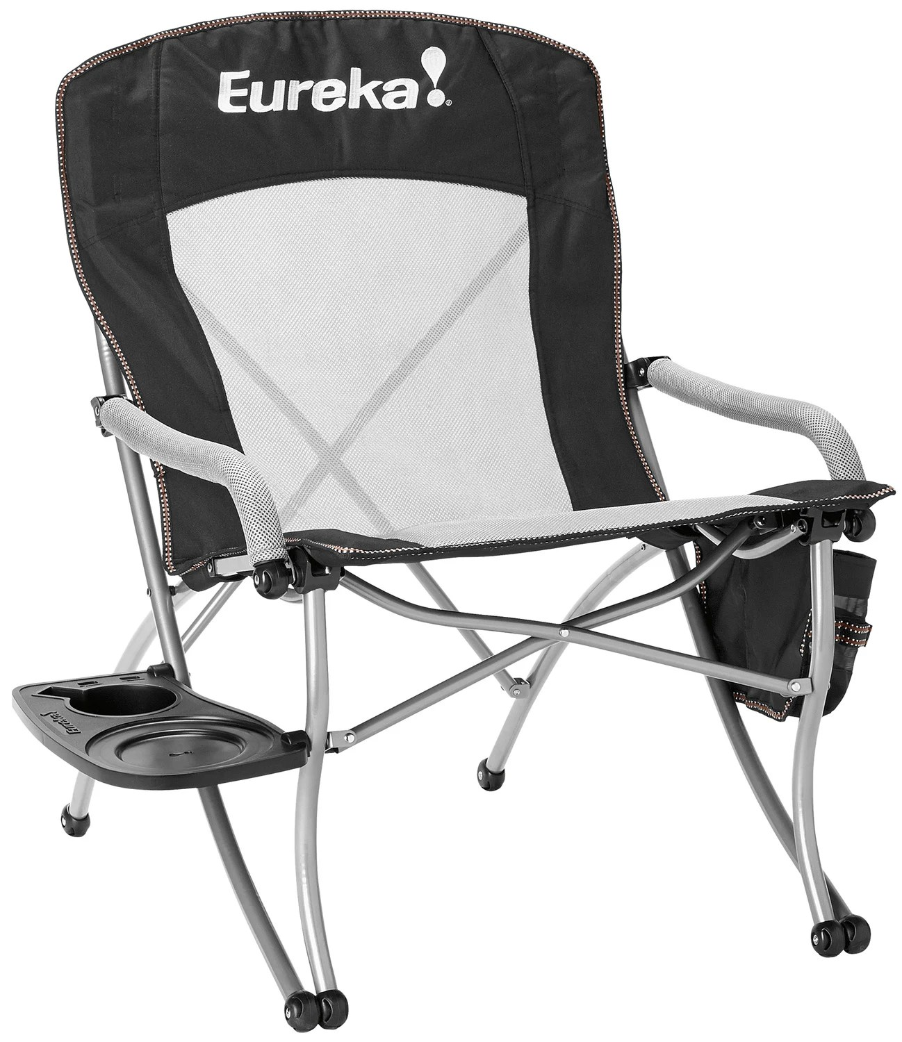 camping chair accessories captains gym exercises eureka curvy w side table camp
