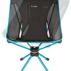 Swivel Camp Chair Lucite Wingback Helinox Camping 2018
