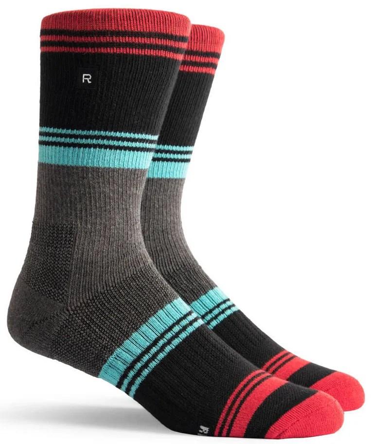 Richer Poorer Expressionist Athletic Socks