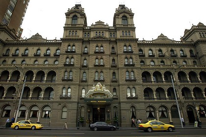 Set for redevelopment ... Melbourne's historic Hotel Windsor.