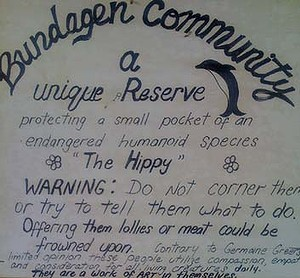 Bundagen Community sign.