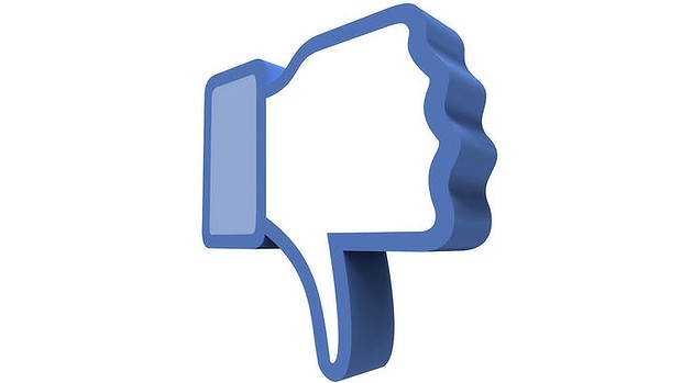 And it's a great big 'thumbs down' from us to Facebook.