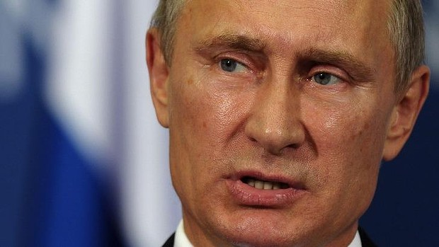 Scathing of the US ... Russian President Vladimir Putin gave a 40-minute diatribe against the West during a speech in Sochi.