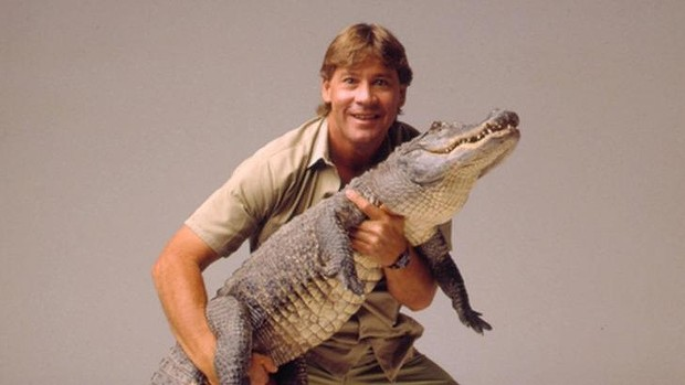 Steve Irwin, who was killed in 2006.