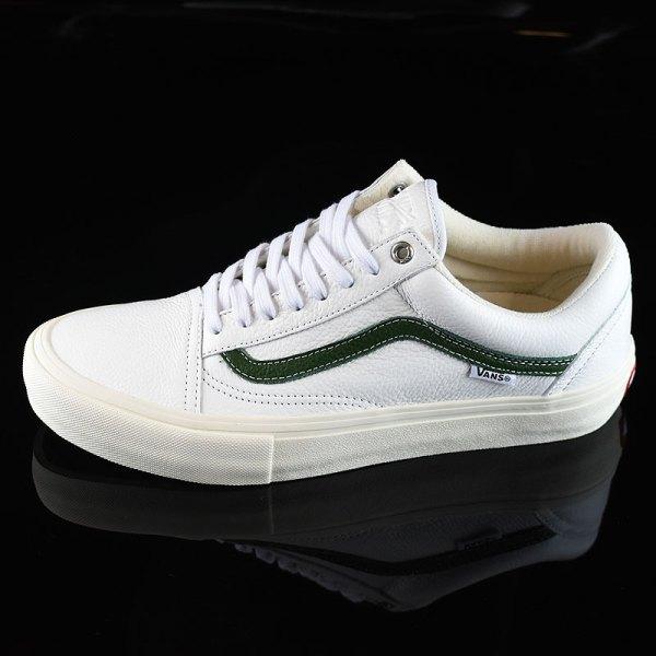 Vans X Skool Pro Shoes White Cream In Stock