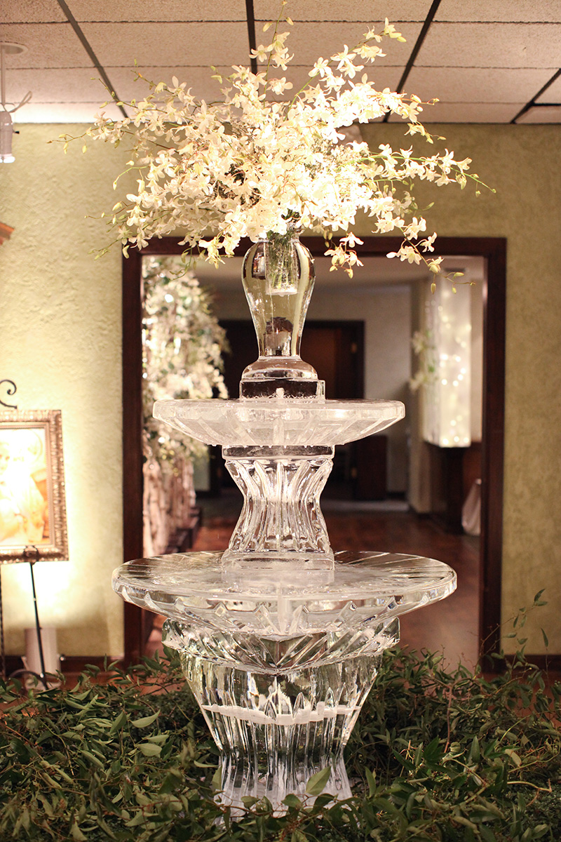 Ice Sculptures for Oklahoma Weddings