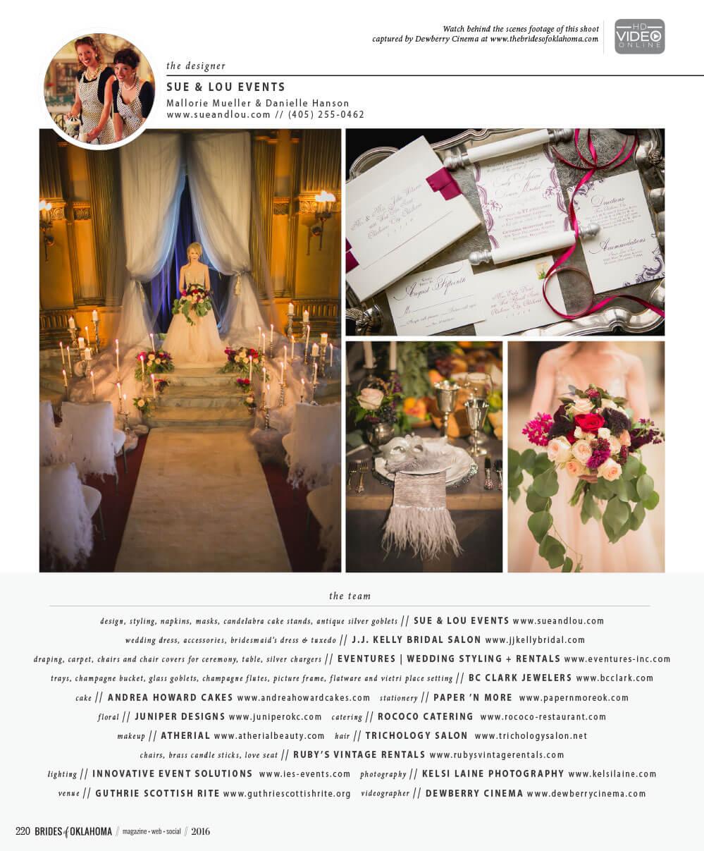 Innovative Event Solutions  Brides of Oklahoma