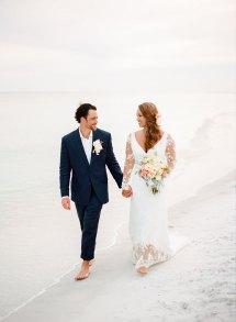 Beautiful Beach Destination Wedding