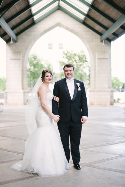 Elegant Tulsa Wedding at The Summit Club  Annabeth  Marty