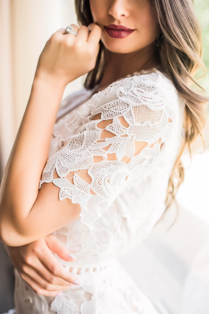Blushing Beauty  Bridal Beauty Looks Captured by Kristina