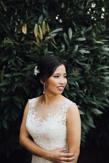 Tram Nguyen And Jimmy Wheeler S Romantic Fall Wedding At Dresser Mansion