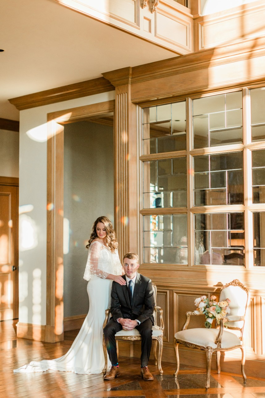 High Pointe Mansion  Brides of Oklahoma