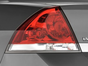Image: 2010 Chevrolet Impala 4door Sedan LT Tail Light