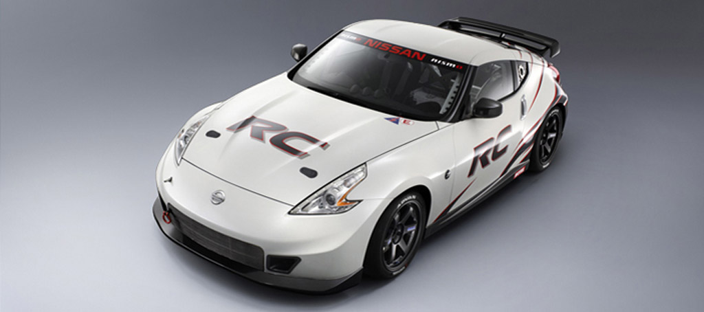 2013 Nissan 370Z Nismo race car