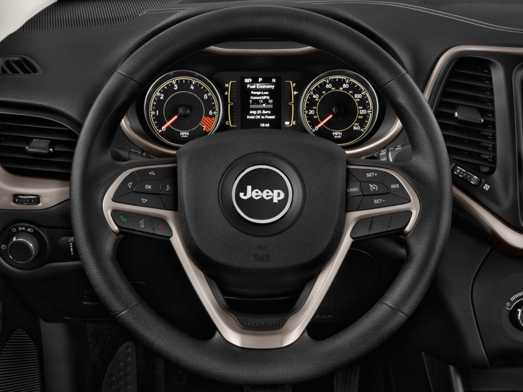 Image 2014 Jeep Cherokee Fwd 4 Door Sport Steering Wheel