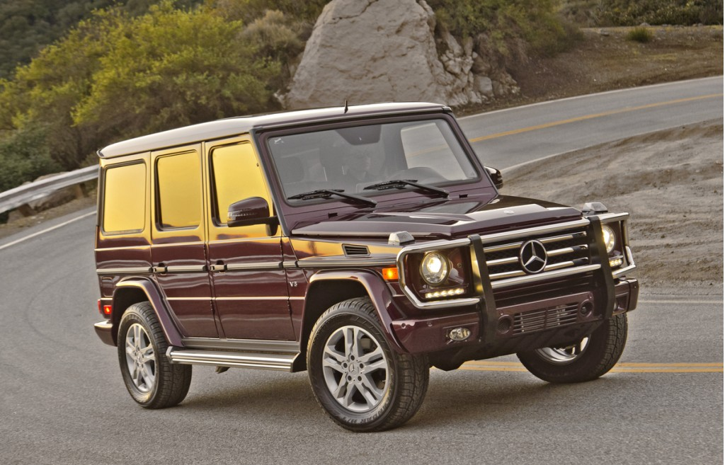 2014 Mercedesbenz Gclass (g550