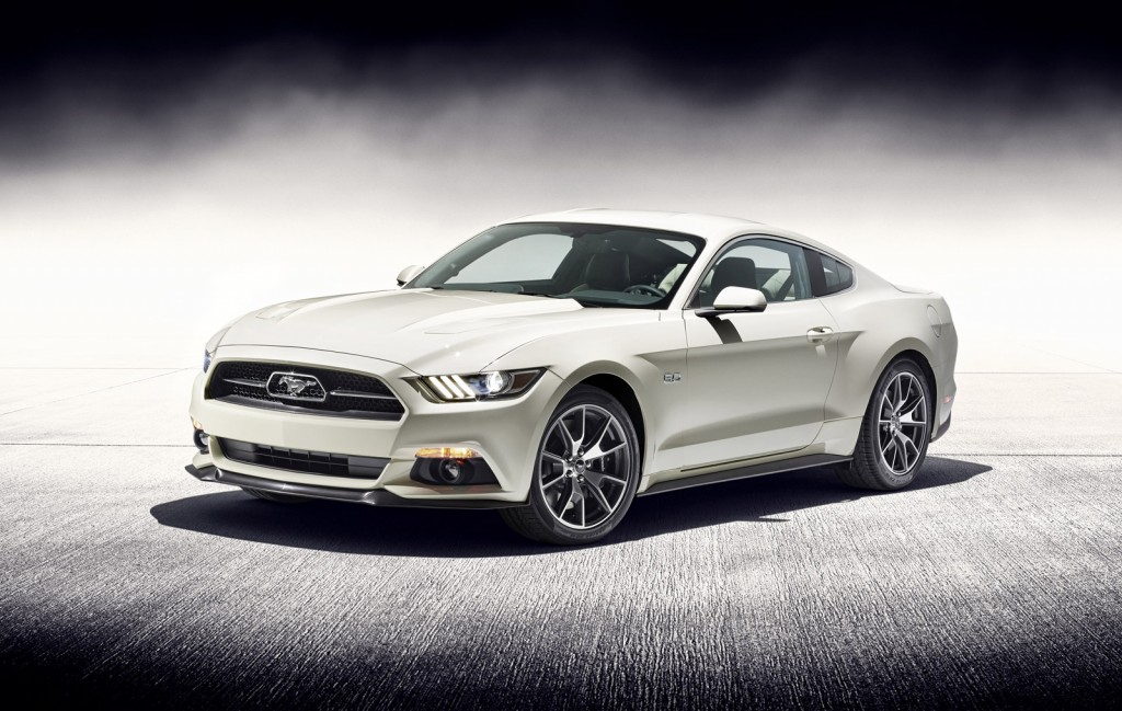 Final 2015 Ford Mustang 50 Year Limited Edition Headed For