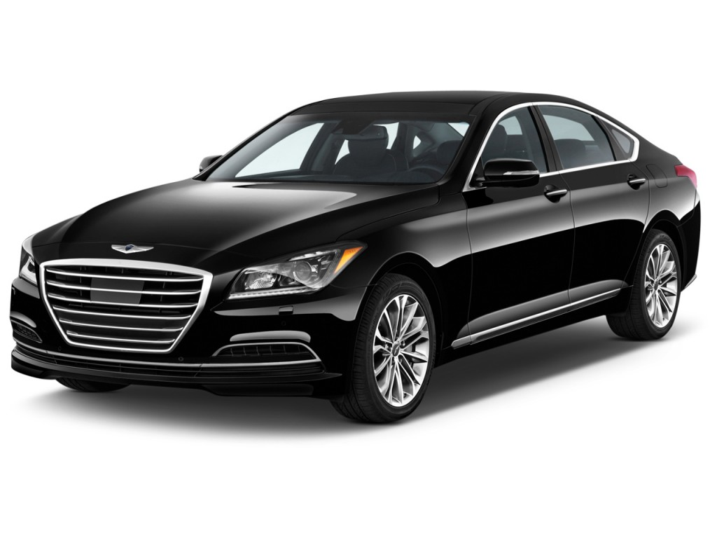 2015 Hyundai Genesis 4door Sedan V6 38l Rwd Angular