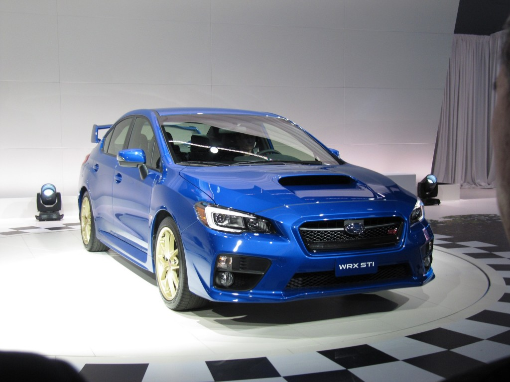 2015 Subaru WRX STI First Look: 2014 Detroit Auto Show Video