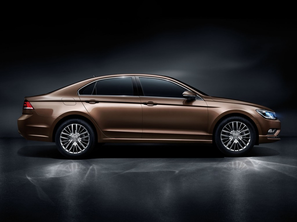 Production Volkswagen New Midsize Coupe Is The Lamando