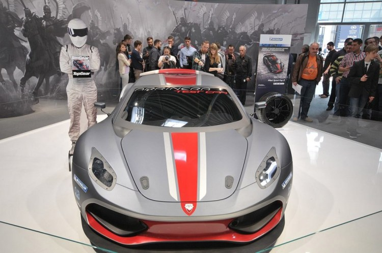 The Arrinera Hussarya Has Been In The Works Since  And A Running Version Was Unveiled Last Month At The Poznan Auto Show The Manufacturer Has Received