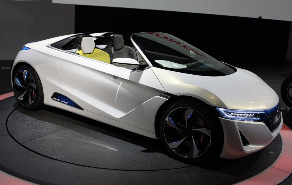 Honda Confirms New Opentop Sports Car