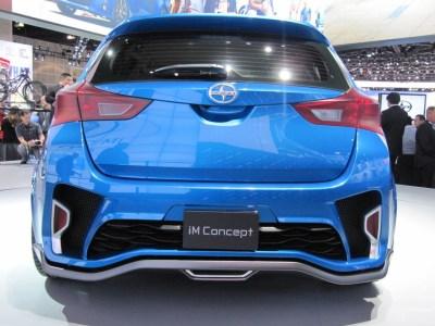 Scion iM Concept Previews New Compact Five-Door Hatchback