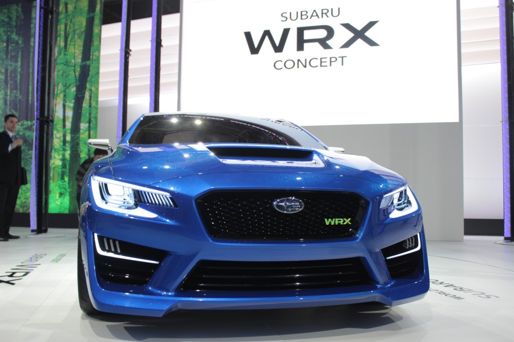 The Subaru WRX Concept at the NY Auto Show