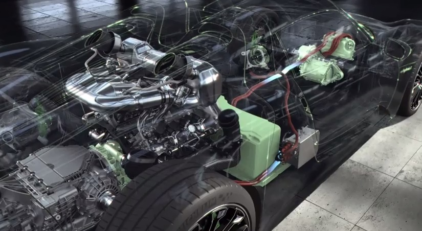 Detroit Wiring Diagram Incredible Porsche 918 Spyder Powertrain Detail Video